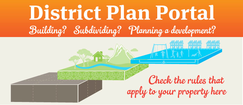 District Plan Portal banner