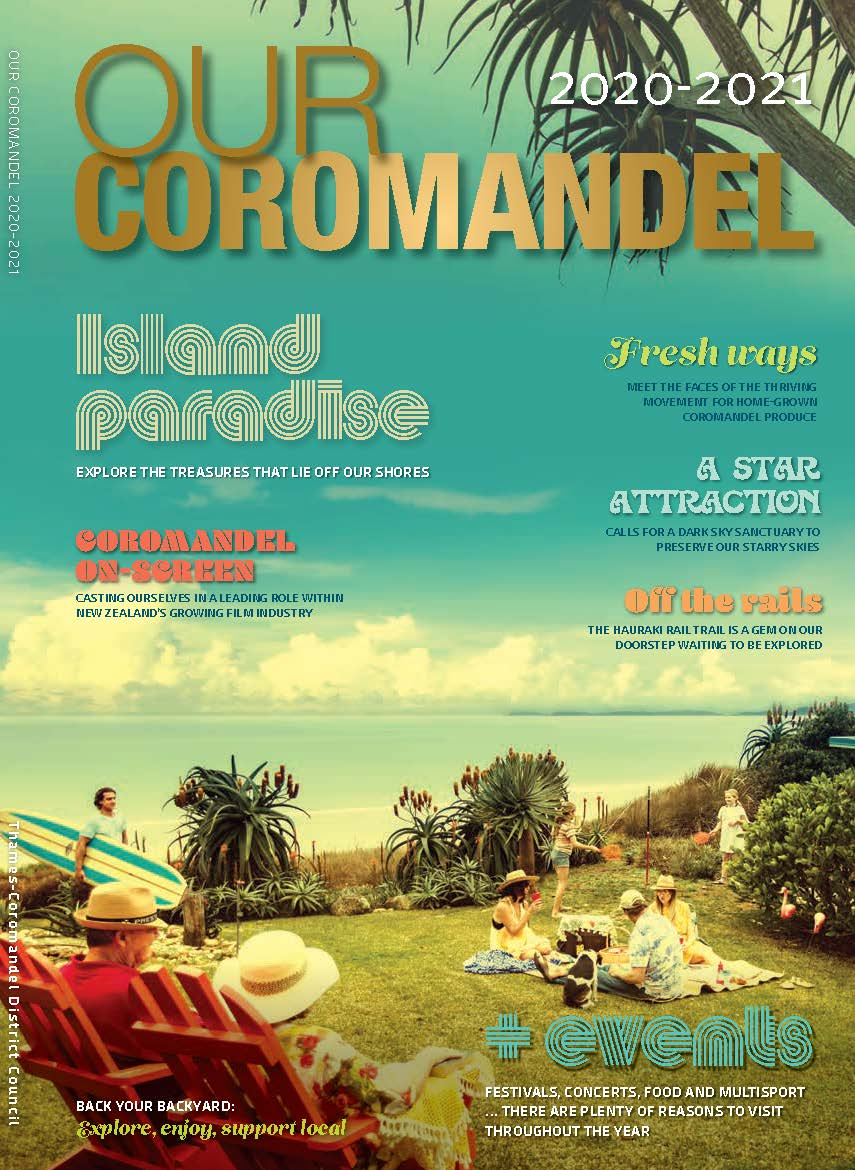 Click to open Our Coromandel Magazine 2020/21