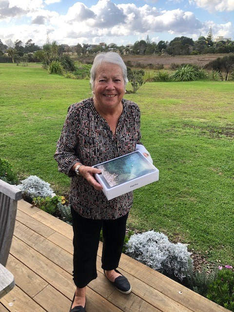 Congratulations to Jennifer Chalmers from Tairua for completing our survey and winning the i-pad