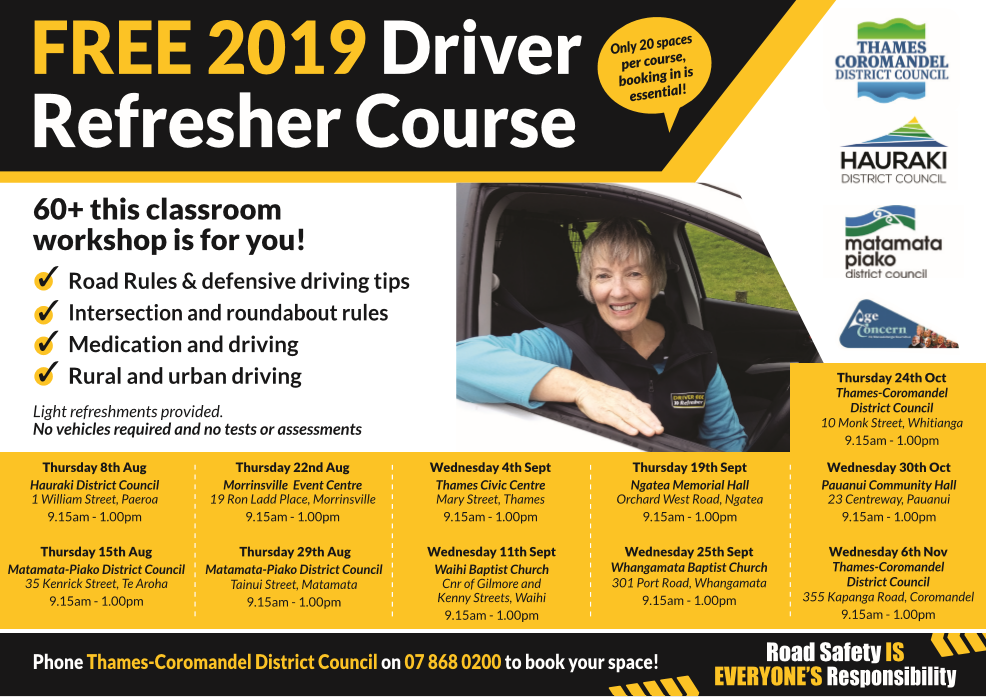 Driver refresher courses 2019